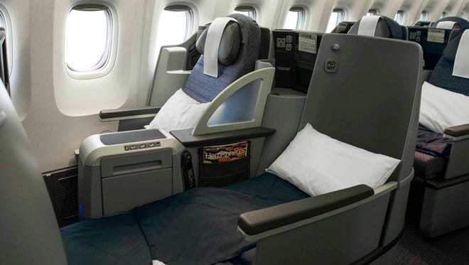 Full-flat seats in the business- and first-class cabins have become a must-have perk for big airlines on overseas flights.