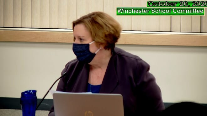 Winchester Superintendent Judy Evans warns COVID spread in the schools could prevent in-person learning.