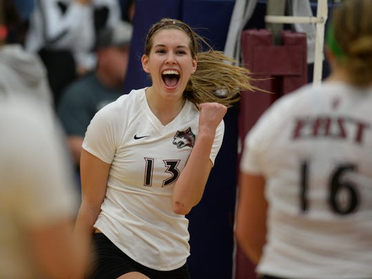 Mallory Livingston became the first in IU East history to reach 1,000 kills and 1,000 digs for her career as she was named the school's Female Athlete of the Year for the third straight time.