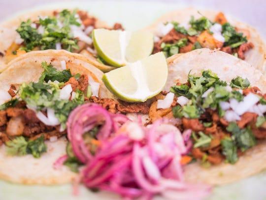 Taqueria Picante's Mexico Taco with marinated pork