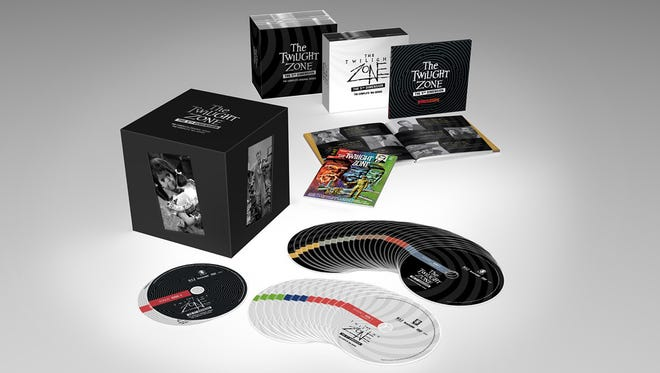 """The limited-edition """"The Twilight Zone: The 5th Dimension"""" box set collects the original Rod Serling series plus the 1980s show."""