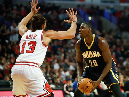 As a starter, Ian Mahinmi's role has increased big time for 2015-16.