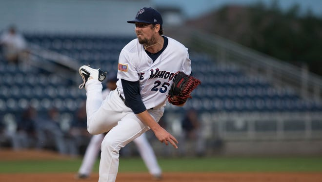 Blue Wahoos pitcher, Deck McGuire takes the mound to open the home playoff series against the Jacksonville Jumbo Shrimp Wednesday night.