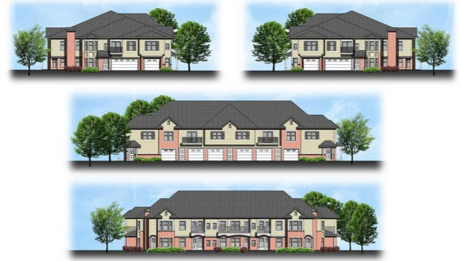 Views of one of three 10-unit apartment buildings proposed for 43rd Street in Greenfield will be evaluated by the Greenfield Common Council May 15. The 30-unit development is The Sanctuary at Cherokee Point.