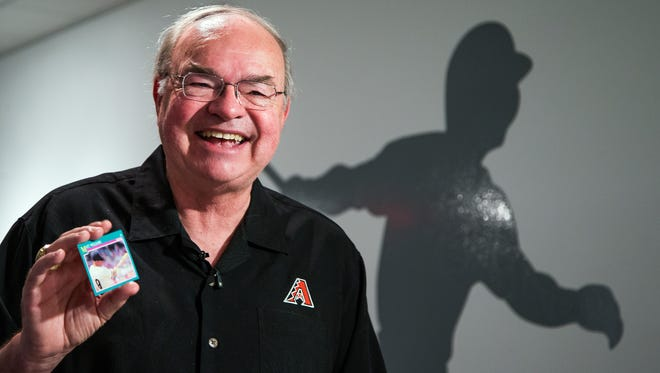 The baseball-card collection by Diamondbacks owner Ken Kendrick is on display at the Phoenix Art Museum.