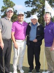 Enjoying last year's Dow Finsterwald Golf Classic are,