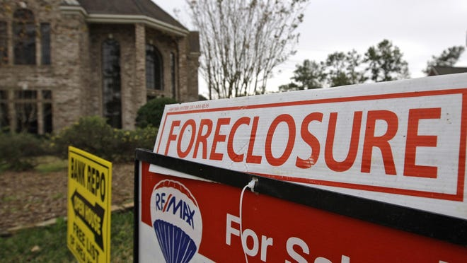 Delaware has the second highest foreclosure rates in the nation, a new study reported.