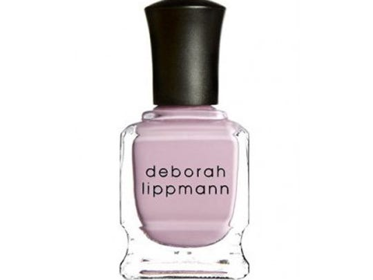 Deborah Lippmann Shape of My Heart Nail Lacquer, $19 with 10% of the purchase price going to Hoag Memorial Hospital in Newport Beach, Calif. Available at Ulta, to shop online or check local availability, www.ulta.com. Also, www.deborahlippmann.com to shop online or find stores. Also, www.vonmaur.com.