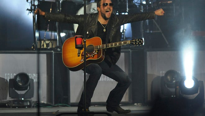 Country singer/songwriter Eric Church.
