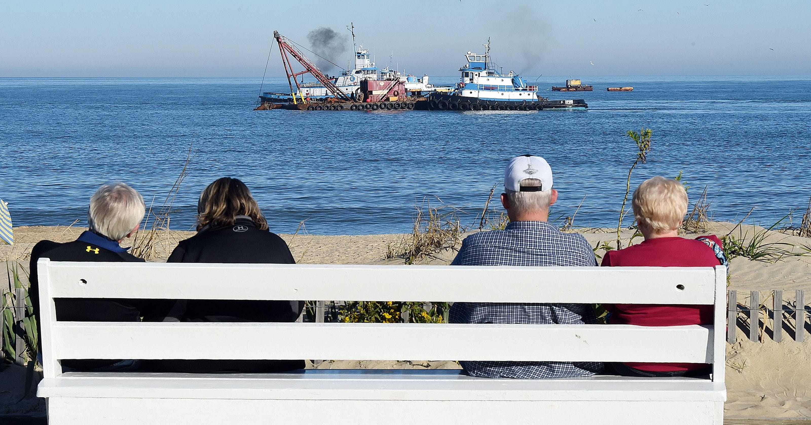 Rehoboth sand pumping could start soon