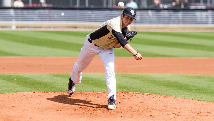 Boston Red Sox select Bishop Verot grad, UCF pitcher Thad Ward in 5th round of MLB draft