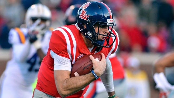 Ole Miss quarterback Chad Kelly gives the Rebels an advantage when their offense is on the field.