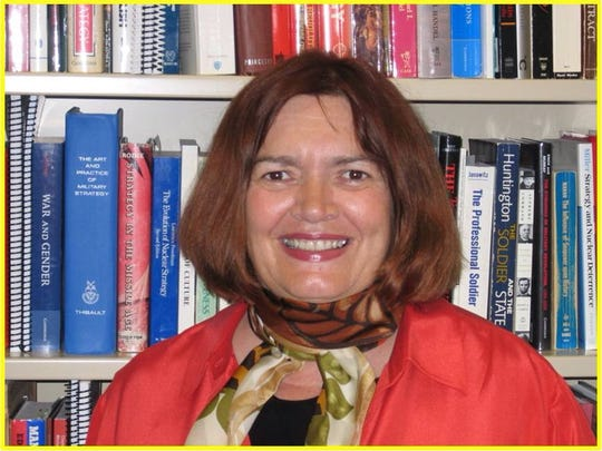 Mary Hampton, professor at ACSC at Maxwell's Air University.