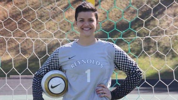 Reynolds soccer player Dallas Warren