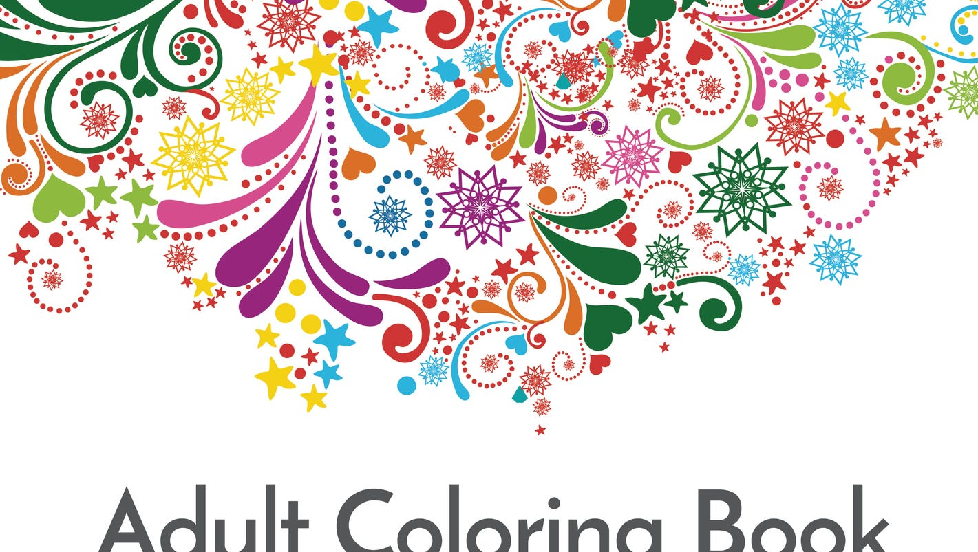 coloring books promise stress relief