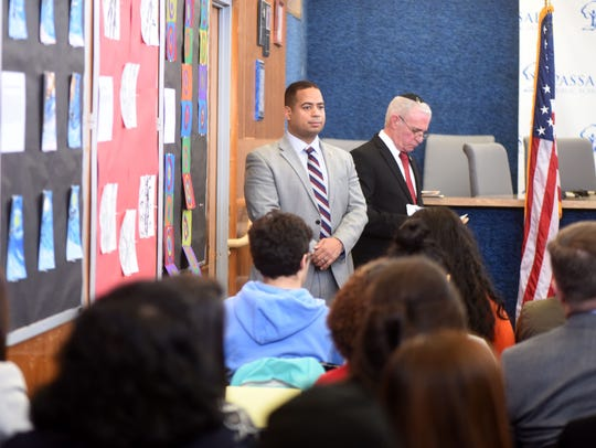 Passaic City Mayor Hector C. Lora and  Assemblyman