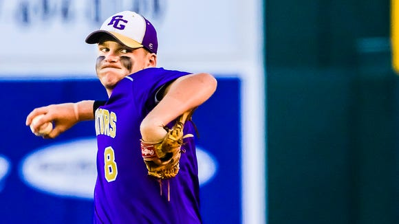 Cullen Ritchie and Fowlerville are one of eight mid-Michigan baseball teams still alive in the state tournament.