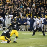 Leistikow: Inside Iowa's congenial, crucial kicking competition