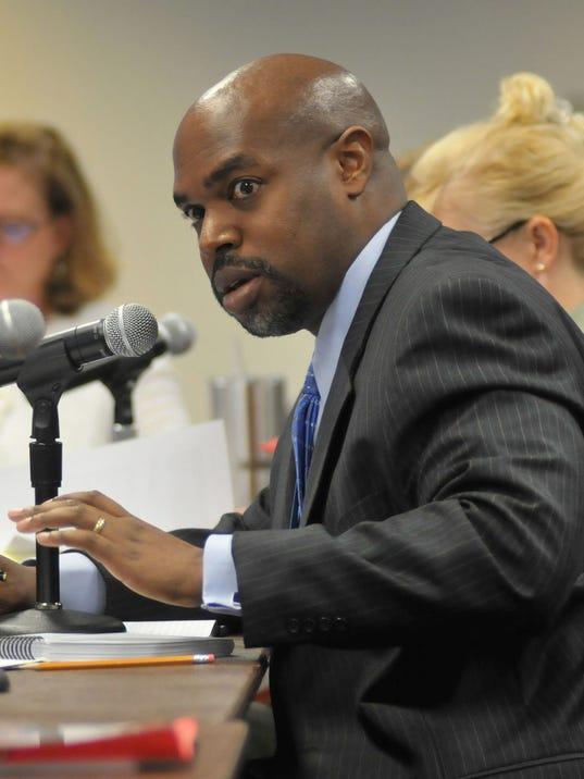Superintendent Desmond Blackburn of Brevard County Public Schools