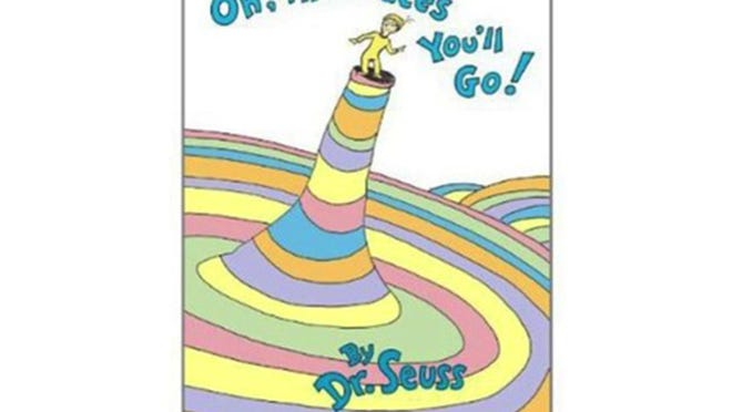 """Oh, the Places You'll Go,"" by Dr. Seuss. (Walmart)"