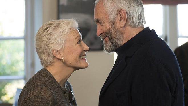 """Glenn Close and Jonathan Pryce in """"The Wife."""""""