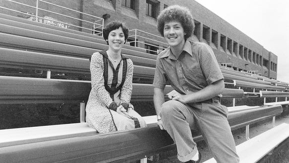 10/22/79 South Kitsap Homecoming King and Queen