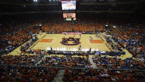 Auburn has sold out its men's basketball season ticket