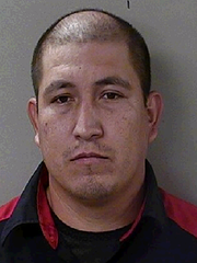 Perez Pedro Arce, 34, of Glendale, Arizona, was charged with one count of Manufacture, Sale, Delivery of Schedule 1 – Heroin.