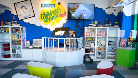 Washington Pavilion's newly renovated Raven Children's