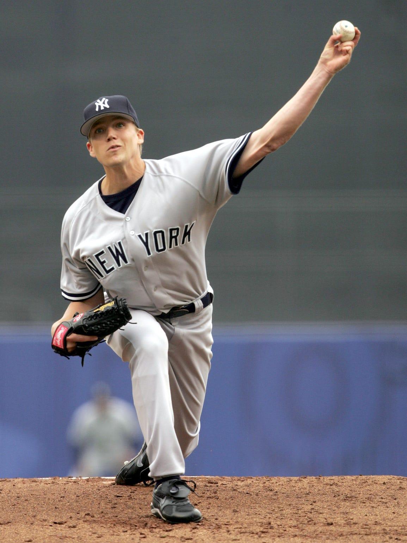 Brad Halsey makes his major-league debut, pitching