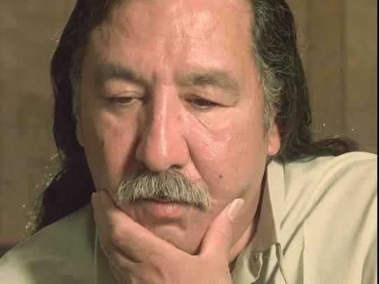 -  -FILE--American Indian activist Leonard Peltier
