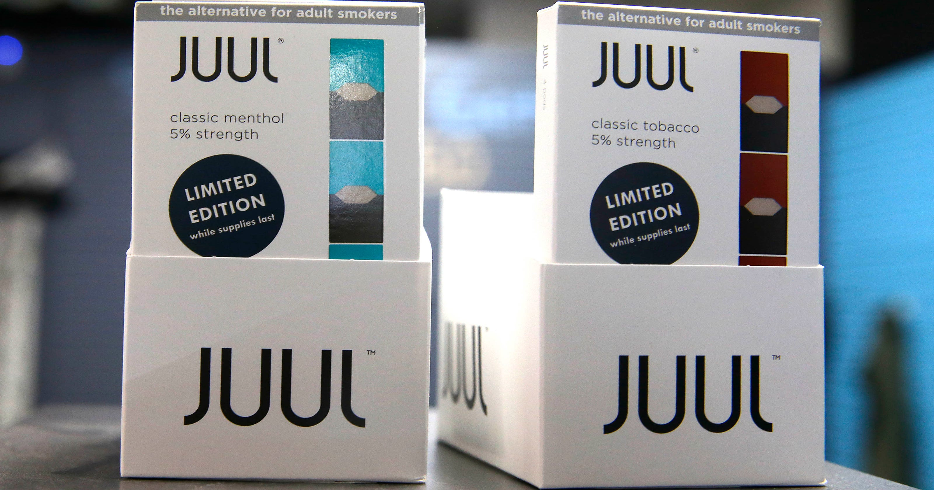 FDA cracks down on JUUL, other e-cigarette sales to minors