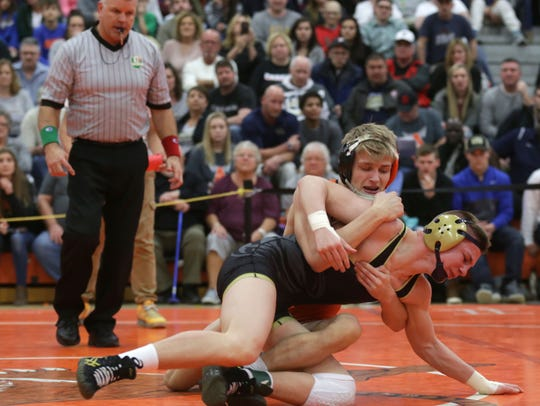 Ashland's Matt Taylor beat Tiffin Columbian's Caden