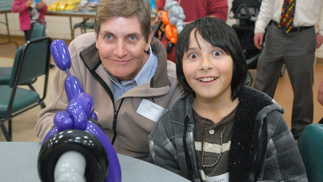 Pam Hett and her Little, Johnathon, have been matched in the Big Brothers Big Sisters program since February 2013