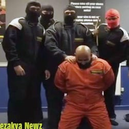 This frame grab from a video released Friday, Oct. 3, 2014, by Islamic State militants is believed to be of executioner Mohammed Emwazi.