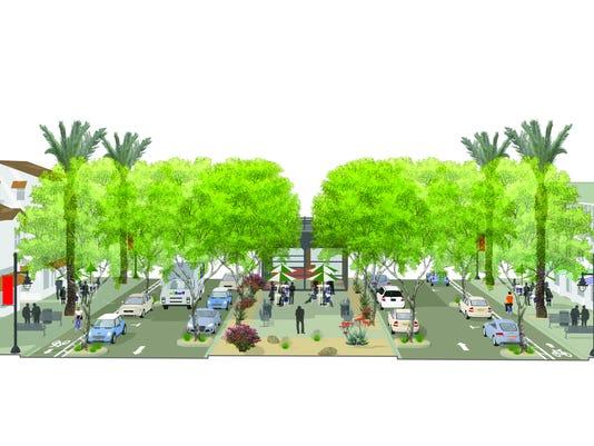 Palm Desert General Plan Update rendering