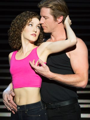 Rachel Boone and Christopher Tierney in 'Dirty Dancing.'