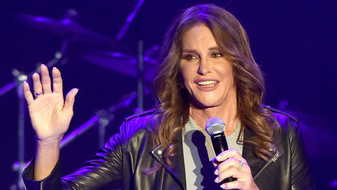 Caitlyn Jenner appears at Culture Club's performance at the Greek Theatre on July 24, 2015 in Los Angeles, California.