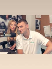 In lieu of wedding gifts, Olivia Harlan and Sam Dekker