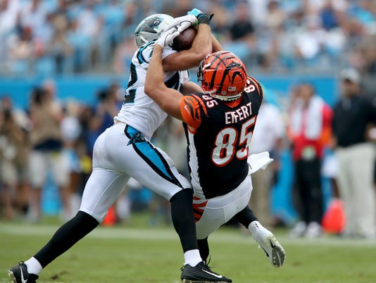 Cincinnati Bengals vs. Carolina Panthers, Sept. 23, Week 3