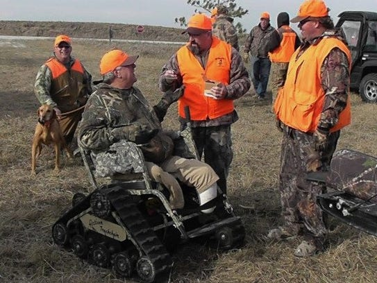 Vets with and without disabilities enjoy hunts like