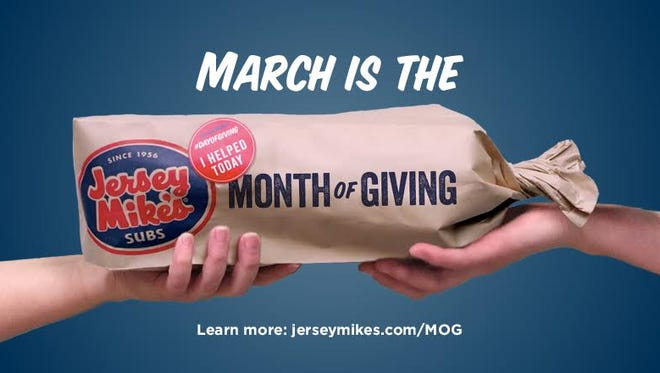 Buy a sub, help fight cancer at Jersey Mike's.