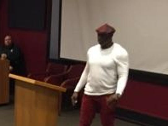 Deion Sanders gave a three-minute motivational speech