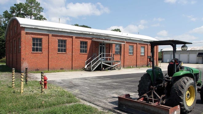 The building at 128 Rhem Street is planned to be the site of the New Bern Police Department's new training simulator.