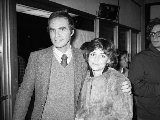 Burt Reynolds and Sally Field in 1978. Reynolds still