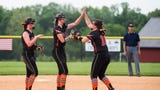 Check out highlights from Central York's 8-1 league title win over Kennard-Dale at New Oxford High School on Wednesday. Central pitcher Courtney Coppersmith struck out 12 batters and walked none while giving up three hits.