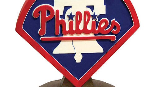 A Philadelphia Phillies plaque is among more than 600 items in the clearance section of the Philadelphia Phillies' online store.