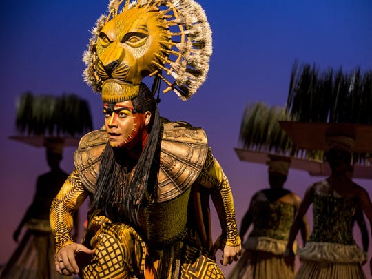 "Gerald Ramsey as ""Mufasa"" in THE LION KING North American"