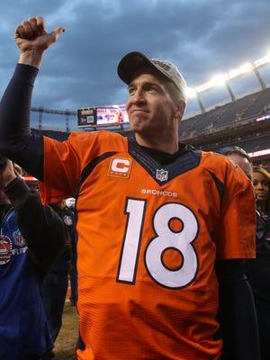 Peyton Manning won a record five MVP awards.