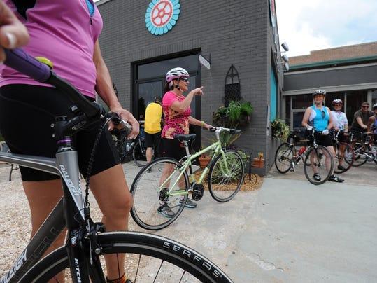 Bar Bike Nashville Women's Bike Shop Coffee Bar